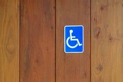 знак инвалидности Стоковые Фотографии RF