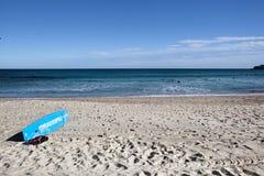Знак личной охраны на пляже Bondi, Сиднее, Австралии Стоковое Изображение RF