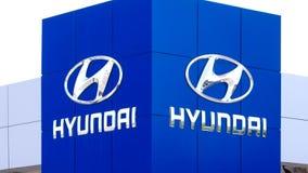 Знак дилерских полномочий Hyundai Autombile акции видеоматериалы