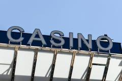 Знак казино Стоковые Фото