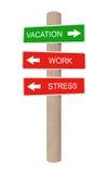 Знак каникулы деревянный. иллюстрация вектора