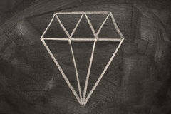 знак классн классного кристаллический наглядный Стоковые Изображения