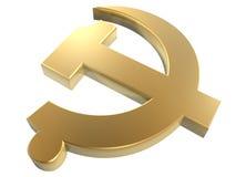 знак Коммунистической партии Стоковая Фотография RF