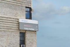 знак комнаты стационара здания непредвиденный Стоковые Изображения RF