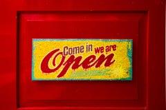 Знак кофейни, Signage, приглашение стоковые фотографии rf
