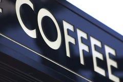 знак кофе Стоковое фото RF