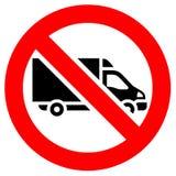 Знак красного цвета запрета иллюстрация штока