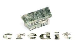 Знак кредита на белизне Стоковые Фотографии RF