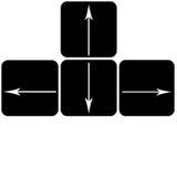 Знак клавиатур Стоковое фото RF