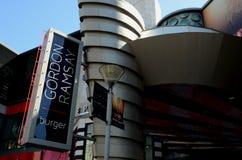 Знак Лас-Вегас ресторана бургера Гордона Ramsay Стоковые Изображения RF