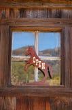 знак лошади открытый Стоковая Фотография