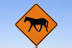 знак лошади Стоковое Фото
