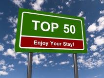 Знак 50 лучших стоковые изображения
