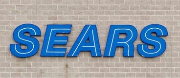 Знак магазина Sears стоковые изображения