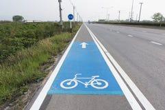 Знак майны велосипеда Стоковое фото RF
