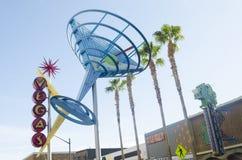 Знак Мартини городское Las Vegas Стоковая Фотография