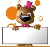 знак медведя Стоковое Фото