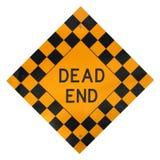 знак мертвого конца Стоковая Фотография RF
