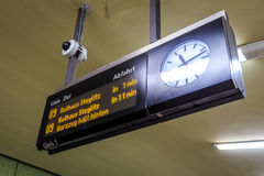 Знак метро Берлина Стоковые Изображения RF