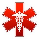 Знак медицины Стоковые Изображения RF