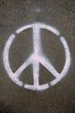 знак мира Стоковое Изображение RF