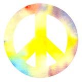 Знак мира pacific иллюстрация штока