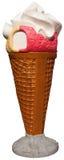 Знак мороженого стоковое фото rf