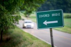 Знак моста Стоковое Изображение