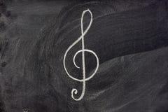 знак музыкальной нотации классн классного Стоковое Фото
