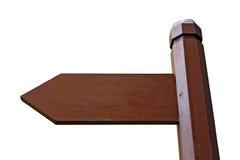 знак направления доски Стоковое фото RF