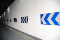 Знак направления Стоковое Фото