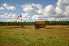 Знак направления ветра стоковое фото