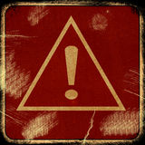 Знак на предпосылке grunge Стоковое фото RF