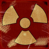 Знак на предпосылке grunge Стоковое Фото