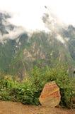 Знак на путе к Haba Xueshan Стоковые Изображения