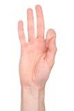 знак номера языка 9 Стоковые Фотографии RF