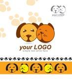 Знак, логотип, любимчики, защитники для животных, приюта для животных Стоковые Фото