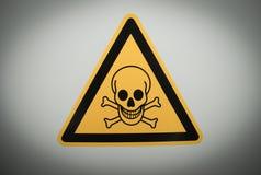 знак опасности Стоковые Фотографии RF