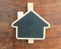 Знак доски дома форменный Стоковые Изображения RF