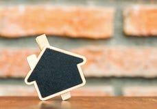 Знак доски дома форменный Стоковые Фотографии RF
