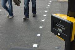 знак пешехода скрещивания Стоковые Изображения