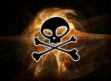 знак пирата Стоковые Фотографии RF