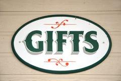 знак подарка богато украшенный Стоковая Фотография RF