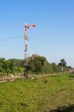 Знак поезда движения Стоковое Изображение RF