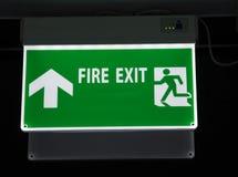 Знак пожарного выхода Стоковое Изображение RF