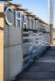 Знак портового района Chattanooga Стоковое Изображение RF