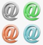 знак почты Стоковые Изображения RF