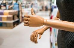 Знак превосходной от деревянных руки и диаграммы Стоковое фото RF