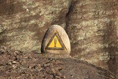 Знак предосторежения Стоковое Изображение RF