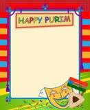 Знак пробела Purim Стоковая Фотография